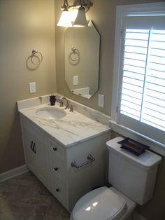 Atlanta Small Bathroom Remodel By Penn Carpentry General - Small bathroom remodel atlanta
