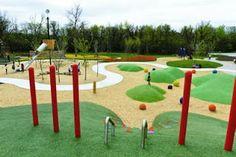 Children's Garden and Nature Playground at the Assiniboine Park