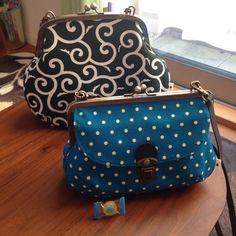 Coin Purse Pattern, Purse Patterns, Cute Purses, Purses And Bags, Handbag Tutorial, Quilted Gifts, Frame Purse, Diy Purse, Crochet Handbags