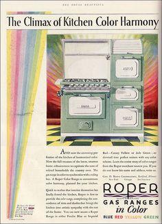 1928 Color Roper Range | by American Vintage Home