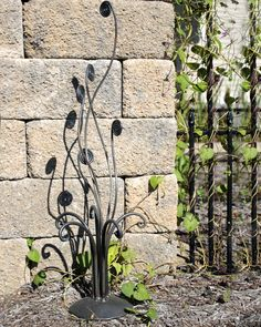 Class up your outdoor area with the original garden art sculptures. Each sculpture is hand crafted in steel and forged into unique works of outdoor art. These sculptures are intended for outdoor use a
