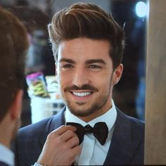 Getting Ready for friend's wedding !!  He is soooooo adorable ♡♡♡♡  MDV .. Mariano Di Vaio ..