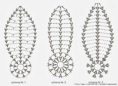 Crochet Diagram, Crochet Chart, Crochet Motif, Crochet Doilies, Crochet Patterns, African Flowers, Crochet Ornaments, Egg Designs, Crochet Baby Clothes