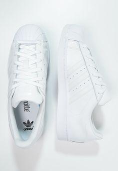 outlet store 10ae6 b4b15 adidas Originals SUPERSTAR FOUNDATION - Matalavartiset tennarit - white -  Zalando.fi Bas Adidas,