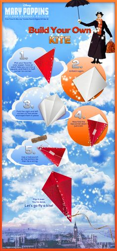With tuppence for paper and string, you can have your own set of wings. Make a kite today!