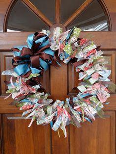 Church Singer: Fabric Wreath