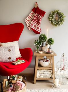 40 idées de décoration de Noel au style scandinave   Christmas ...