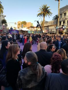 cool Walking the Red - I Mean Purple - Carpet At The World Premiere of Guardians of the Galaxy Vol 2