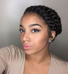 Looking for flat twist hairstyle ideas for your natural hair? We've made a list of the simplest natural hair flat twist styles you can make at home