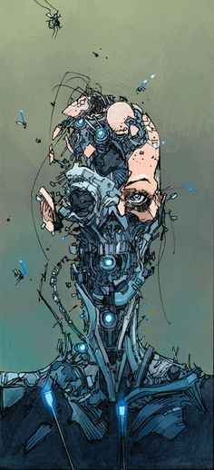 Science Ilustration Art Cyberpunk 68 Ideas Source by Our Reader Score[Total: 0 Average: Related coisas que o clássico cyberpunk Neuromancer previu Cyberpunk Kunst, Cyberpunk 2077, Cyberpunk Tattoo, Arte Steampunk, Cyberpunk Aesthetic, Arte Robot, Poses References, Futuristic Art, Fantasy Kunst