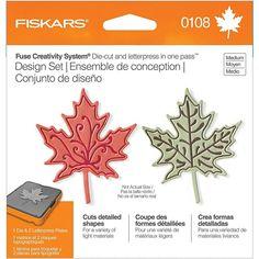 Fiskars Medium Design Set - Leaf