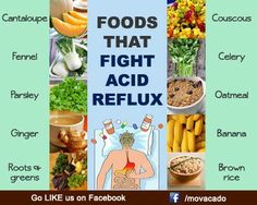 Foods that fight acid reflux