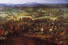 La batalla de Nordlinghen de Pieter Snayers