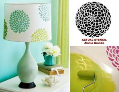 This Cutting Edge Stencils post shows the latest Better Homes and Gardens decor trends. Get trendy home decor on a budget using DIY stencils.