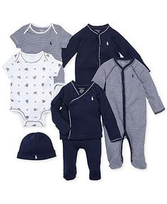 fc6c62d03af Polo Ralph Lauren Ralph Lauren Baby Boys Nestled In Navy Gift Bundle    Reviews - Sets   Outfits - Kids - Macy s