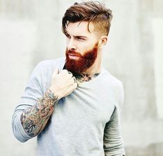 3 (Quick) Hacks for Grooming Your Beard Expertise! Grooming your beard is easy now ⋆ Men's Fashion B Beard Styles For Men, Hair And Beard Styles, Long Hair Styles, Hipster Hairstyles, Girl Hairstyles, Middle Hairstyles, Hairy Men, Bearded Men, Hipster Man