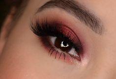 Burgundy fall Makeup Tutorial - Makeup Geek