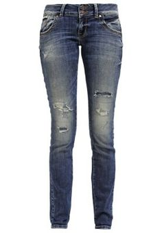 MOLLY - Slim fit jeans - viorica wash