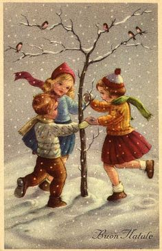 Miss Jane: Christmas Cards 1959 I love the old christmas cards Vintage Christmas Images, Old Christmas, Christmas Scenes, Retro Christmas, Vintage Holiday, Christmas Pictures, Christmas Greetings, Italian Christmas, Vintage Images