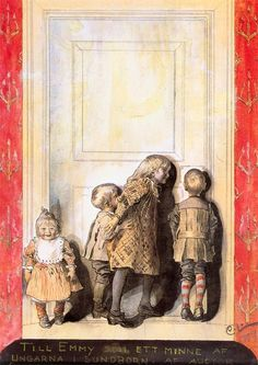 Carl Larsson - Day Before Christmas, The