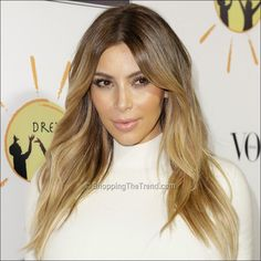 kim-kardashian-blonde-hair-oct-2013-0_800.jpg (800×800) @Rachael Marie this is what I want to do to yours and lighten your brows too.