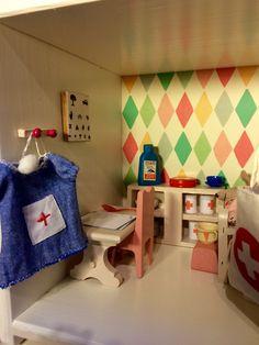 Krankenzimmer im Maileg Mäusehaus