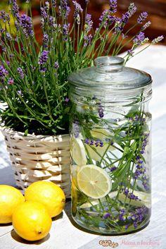 IMG_6771 (1) Vodka, Smoothie, Mason Jars, Glass Vase, Lavender, Recipes, Decor, Syrup, Alcohol