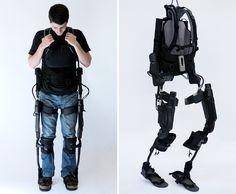 Eksoskeleton by Berkeley Bionics...now in use at Craig Hospital's PEAK Wellenss Center