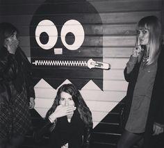 DON'T SAY A WORD  #secrets #strangeevening #nacosettaleggera #tataki #kobe #shampistesinasce #psichokillers #nowordstosay #gossiping #pacman #pignetoroma #poser #nightout #chitchat #havefun #girls #romabynight by inthe_hyperuranium