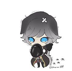 โจน่ารักอ่าา>\\<~ V Chibi, Kawaii Chibi, Anime Chibi, Kawaii Anime, Joseph, Cute Characters, Disney Characters, Monster Boy, Anime Monsters