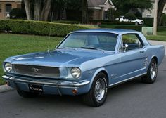 1966 Ford Mustang Coupe. My 1st car. Her name was Betsy.