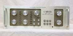 Carver C4000 Preamplifier Holographic High Fidelity Control Console