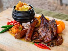21 iconic South African foods – the ultimate guide for visitors - Eat Out South African Dishes, South African Recipes, Ethnic Recipes, Braai Recipes, Cooking Recipes, Oven Recipes, Hake Recipes, Cooking Food, Curry Recipes