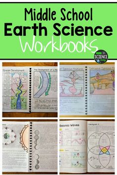 Earth Science Projects, Earth Science Activities, Earth Science Lessons, Middle School Activities, Earth And Space Science, Science Lesson Plans, Science Curriculum, Middle School Science, Teaching Science
