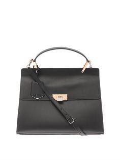 Le Dix Cartable M leather tote  Balenciaga