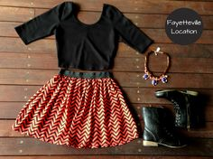 Combat boots and a skirt: WE LOVE IT!