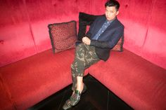 Bryanboy, Jacket from Topman, shirt by Penguin Paul (South Korea), pants by Xkin at Haji Lane (Singapore), shoes by Prada #fashion