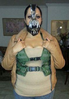 Halloween costume from the Dark knight rises, the villain Bane.