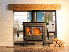 Ekol Clarity DS Stove DEFRA Approved Exempt Stove
