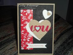 Carolyn's Card Creations: I (Heart) U for Valentine's Day