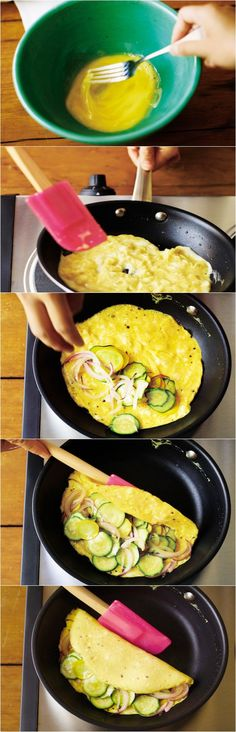How to make the PERFECT omelet.