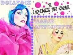 Doll Face and Marie Antoinette Tutorial - ( 2 looks 1 video)