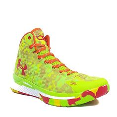 Under Armour have come up with these amazing neon bad boys.  www.coolneonshoes.com  #shoe #yellow #orange