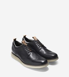 Subtly Sporty Dress Shoes : Cole Haan Nike Air