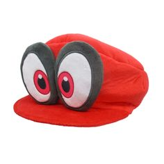 The two iconic hats from the hit game Super Mario Odyssey are now available as plushies by Sanei Boueki! Cappy and Cappy (Mario's Cap) look as bright and animated as they do in-game - with large eyes and a mouth-like brim! Cappy is a normal plushie with a hook, but you can actually wear Mario's Cap! Which power-up are you going with?