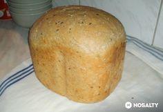 Sokmagvas kenyér sütőgépben Kenya, Clean Eating, Food And Drink, Cookies, Baking, Recipes, Breads, Crack Crackers, Bread Rolls