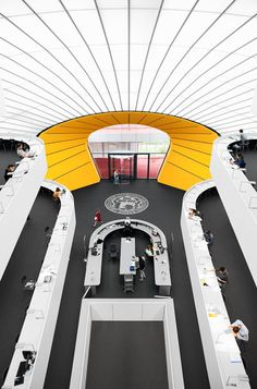 FU Berlin Library by Norman Foster