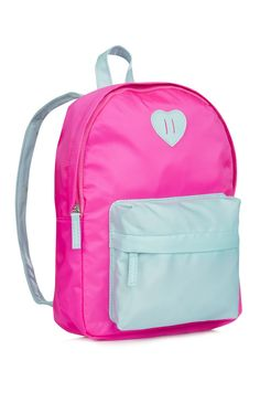 Neon Pink Back Pack