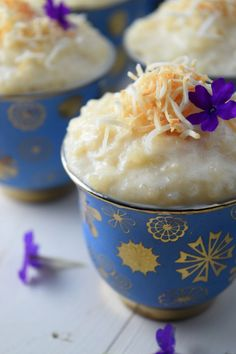 Coconut Tres Leches Rice Pudding, creamy rice pudding made using three ...