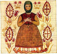 Kira Sarakosti - an Old Greek Easter Tradition ~ Read more on http://greekweddingtraditions.com/